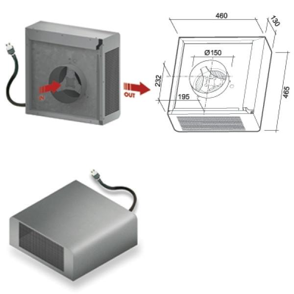 Falmec Аспиратор (мотор) внешний (1000)m3/h